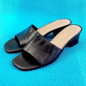 👗Naturalizer👗Black Heeled Sandals